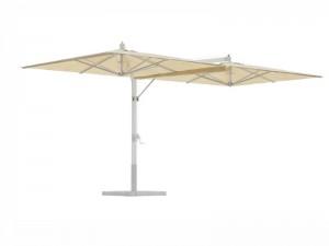 Ombrellificio Veneto Fellini Alluminio ombrellone a 2 braccia laterali 400x800cm FELLINI
