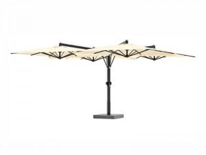 Ombrellificio Veneto Galileo Legno ombrellone a 4 braccia laterali 600x600cm GALILEO