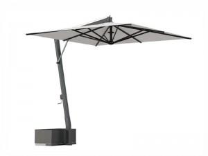 Ombrellificio Veneto Saturno ombrellone a braccio laterale 400x400cm SATURNO