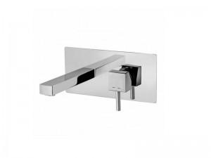 Paffoni Level rubinetto lavabo a parete cromo LEA101CR16