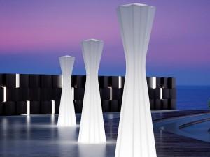 Plust Frozen lampada da terra outdoor 8339