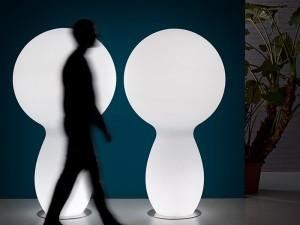Plust Trim lampada da terra indoor e outdoor 8253