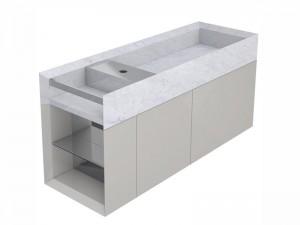 Salvatori Onsen mobile lavabo a parete ONM