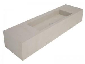 Salvatori Stiletto lavabo a parete STILETTO180