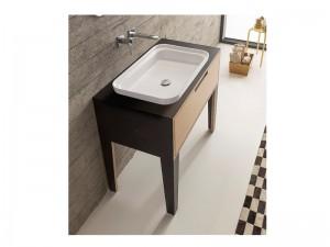 Scarabeo Mizu lavabo da incasso 9008