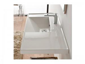 Scarabeo ML lavabo da incasso con mensola 3009