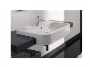 Scarabeo Next 80D lavabo da semincasso 8047D80