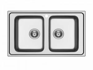 Schock Wave N200 lavello cucina 2 vasche WAVN200