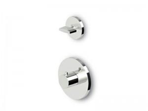Zucchetti Isyfresh miscelatore termostatico doccia con rubinetto d'arresto ZD4659