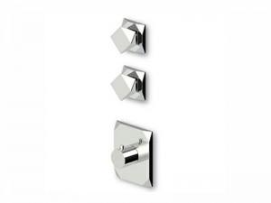 Zucchetti Wosh miscelatore termostatico doccia con 2 rubinetti d'arresto ZW5660