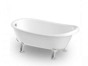 Zucchetti Kos Agorà vasca da bagno freestanding 1AGBI0CRCR
