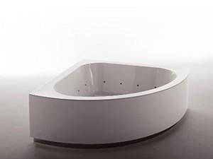 Zucchetti Kos Grande vasca da bagno idromassaggio angolare