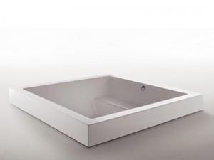 Zucchetti Kos Grande Step Quadra vasca da bagno idromassaggio a incasso