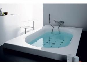 Zucchetti Kos Kaos 2 vasca da bagno idromassaggio a incasso