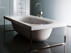Zucchetti Kos Kaos 3 vasca da bagno idromassaggio freestanding