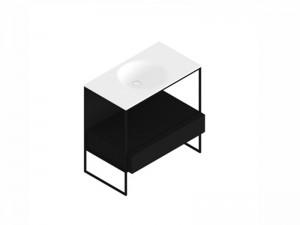 Zucchetti Kos Morphing mobile con lavabo 8MP302NE