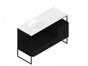 Zucchetti Kos Morphing mobile con lavabo 8MP303NE
