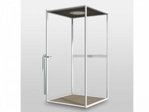 Zucchetti Kos Wazebo box doccia outdoor 9WA1BI