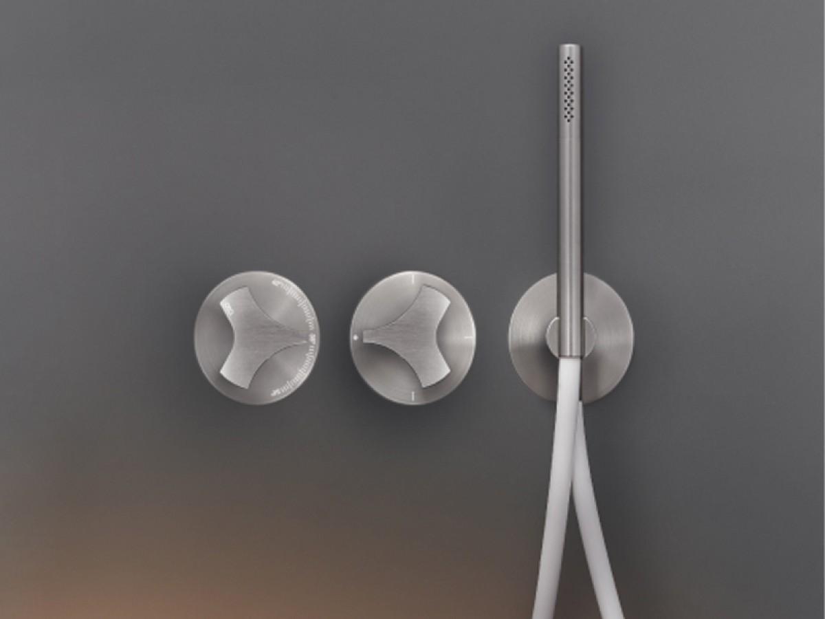Cea Ziqq miscelatore termostatico doccia o vasca con deviatore 2 e 3 vie e doccetta ZIQ7
