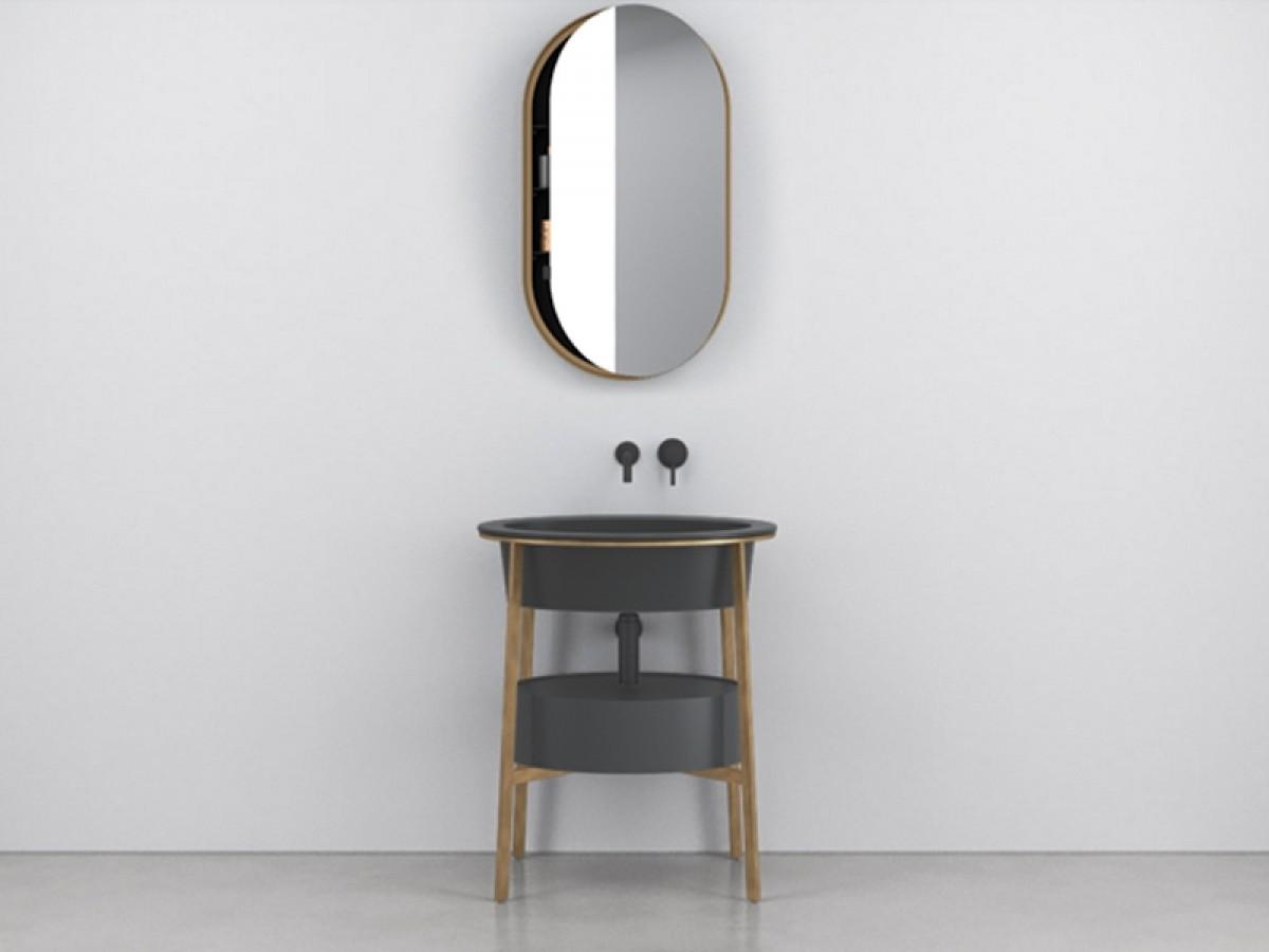 Cielo Catino Ovale mobile lavabo