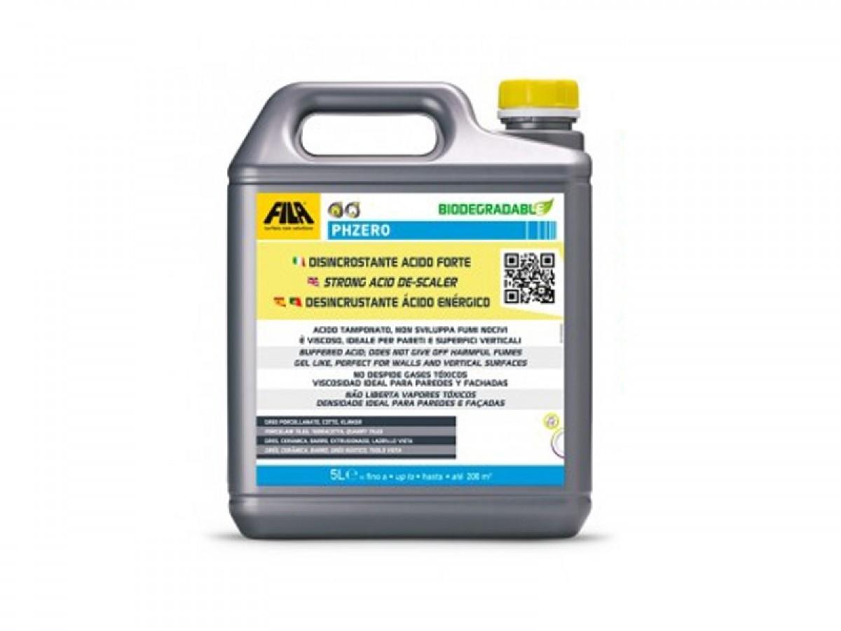 Fila PHZERO 5L disincrostante acido forte PHZERO-5L