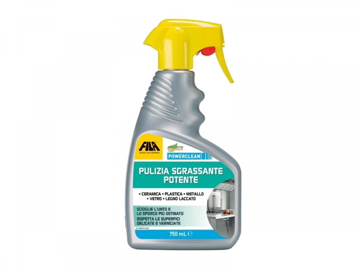 Fila Powerclean detergente spray anticalcare POWERCLEAN
