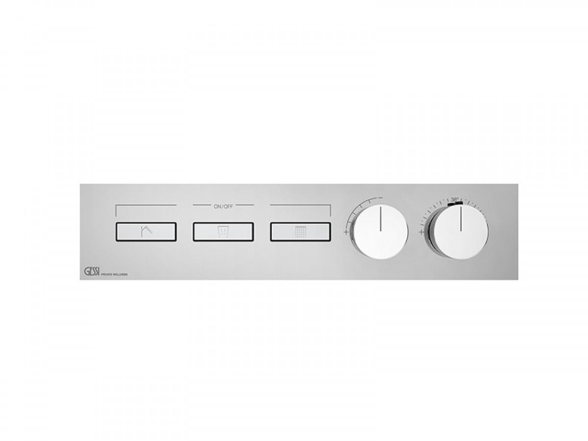 Gessi HI-FI Linear miscelatore termostatico a 3 funzioni 63014