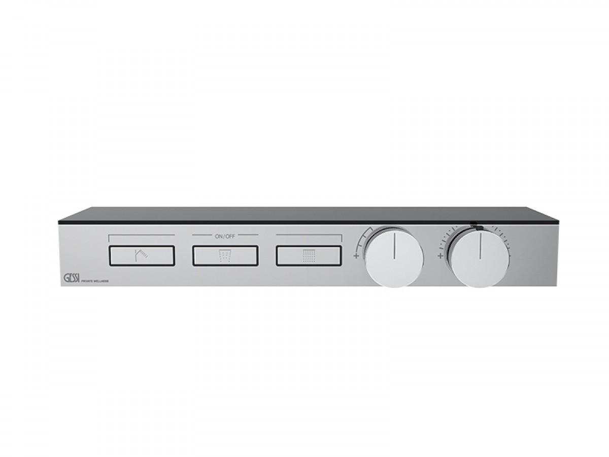 Gessi HI-FI Shelf miscelatore termostatico a mensola con 3 funzioni 63024