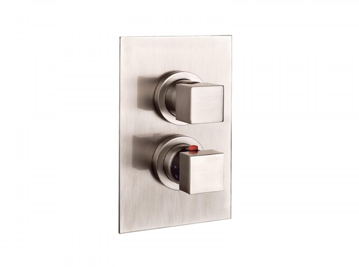 Gessi Rettangolo miscelatore termostatico doccia con deviatore 20132.031